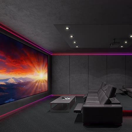 Dedicated Home Theaters