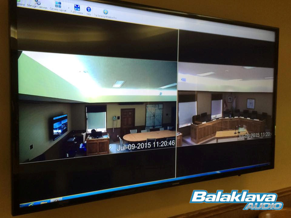 Balaklava Audio - CCTV Installation