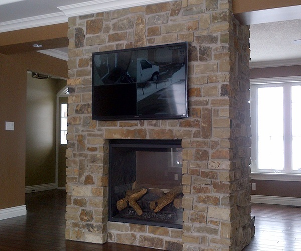 Webers Fireplace TV