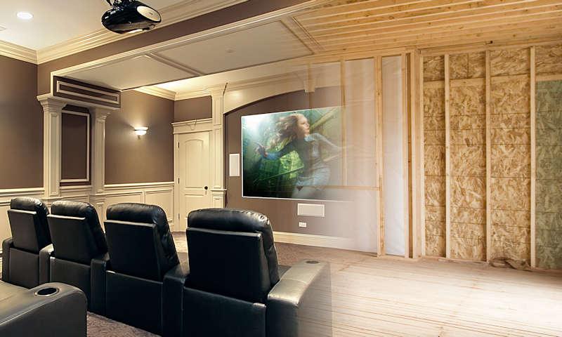 Security Safe - Home Theater Customization