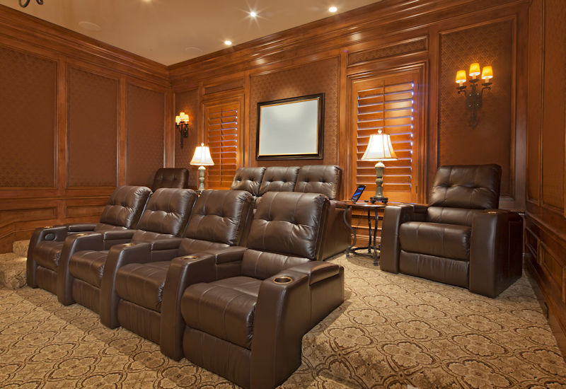 Security Safe - Home Theater Seating