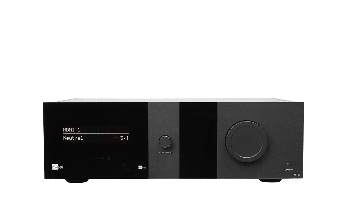 Origin HiFi Product | Lyngdorf Audio Amplifiers are built around cutting-edge research and development