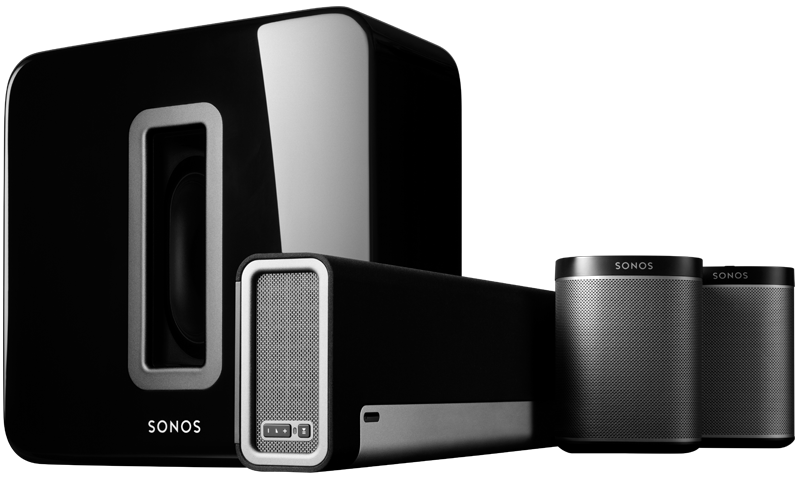 sonos home theater speakers