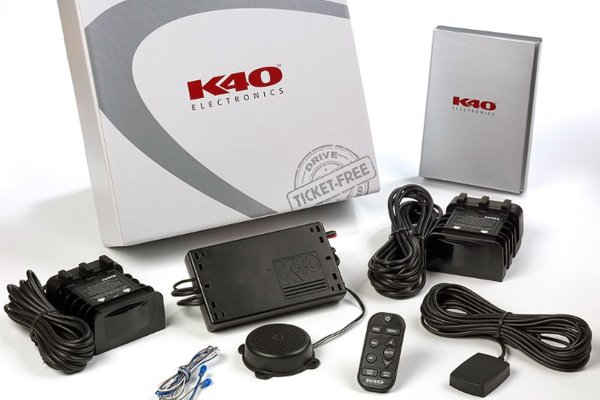Picture of a K40 radar detector kit.