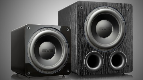 Picture of 3000 series SVS subwoofers.