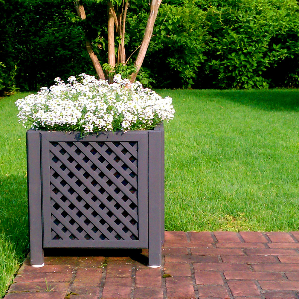 The Westport outdoor planter speaker is an elegant way to add quality audio to an outdoor space