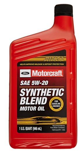 Oil - Ford Synthetic Blend