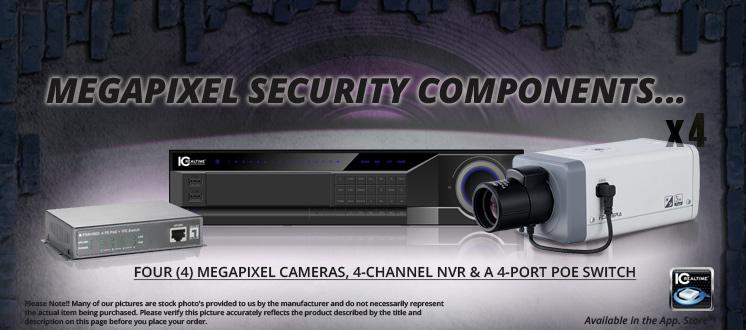 Sniper Security Cameras