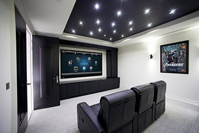All Safe Tech - Home Theater Room