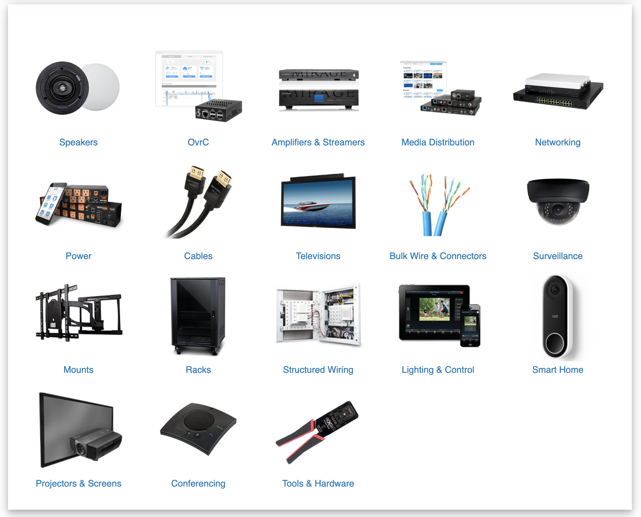 Products - SnapAV - Products