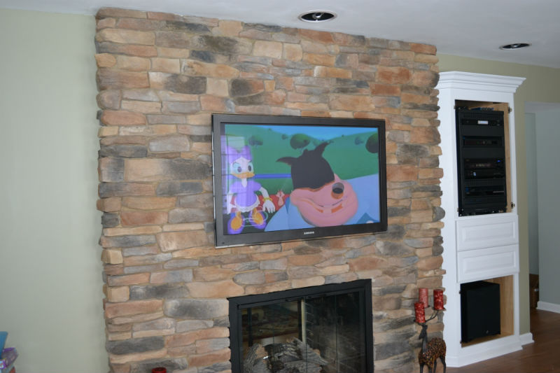 Custom home theater by Innovative Audio Visual, LLC in Erie, PA