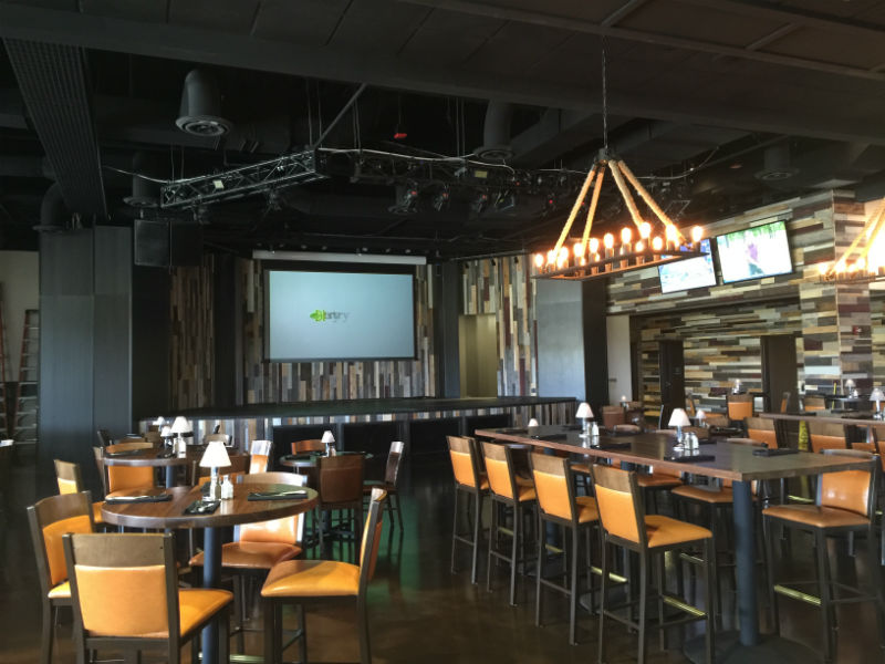 Presque Isle Downs and Casino, Erie PA, Just Add Power, RTI, Screen Innovations, Custom projection screen Innovative Audio Visual, LLC