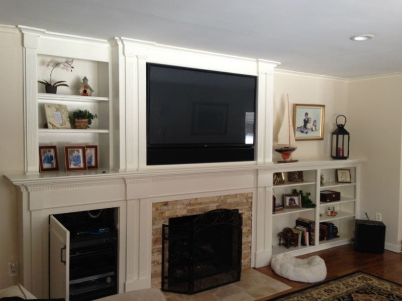 Completed Dey Home Theater Project by by Innovative Audio Visual
