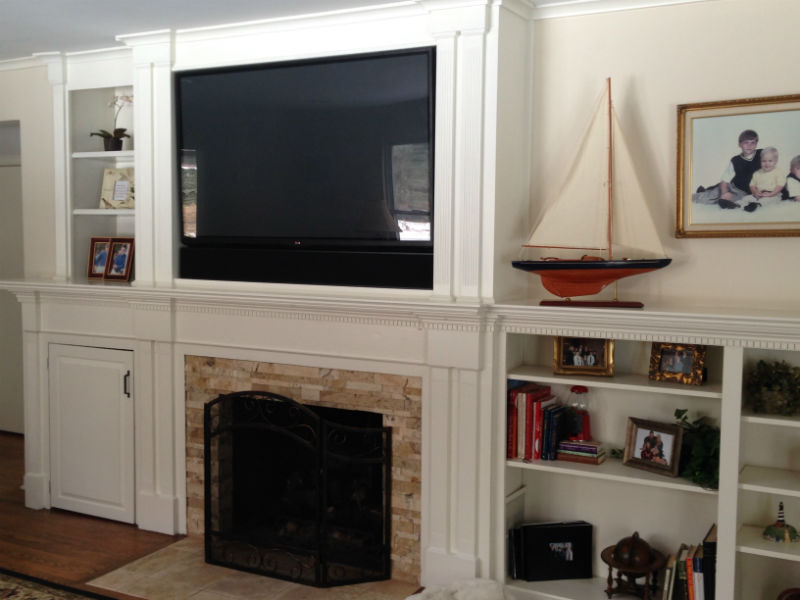 Completed Dey Home Theater project byInnovative Audio Visual