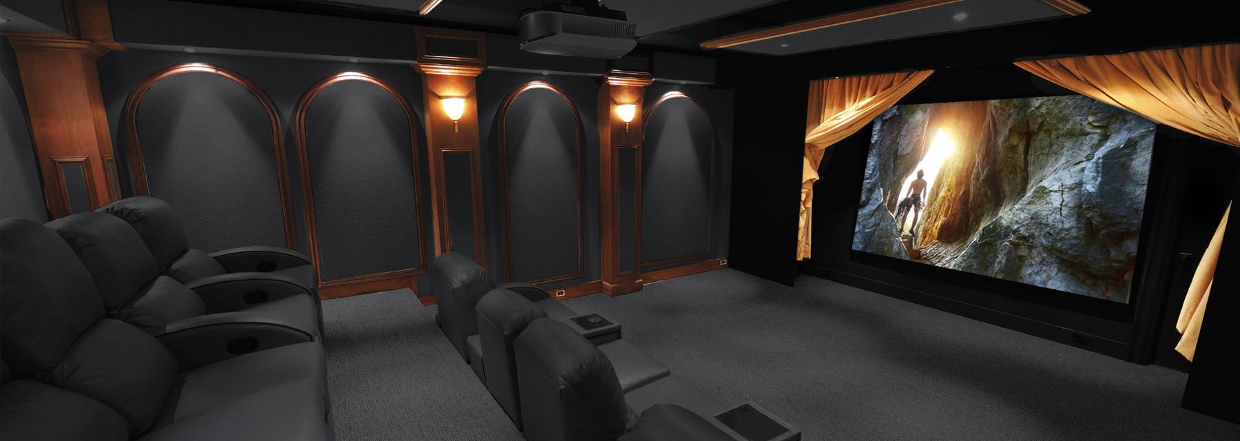 AVID Resourses - home theater - custom home theater - movie room - Leesburg, VA; Middleburg, VA; Oakton, VA