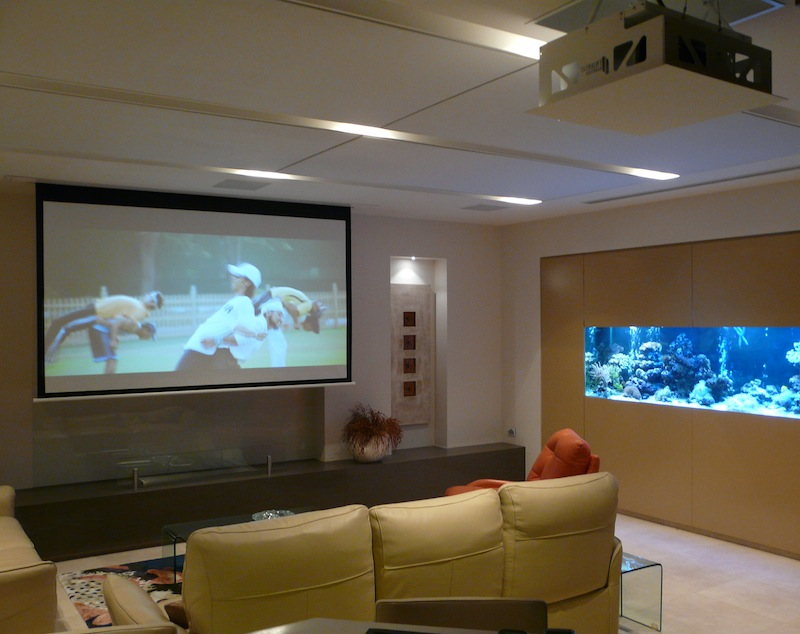 kickTECH - Project Angophora Lodge Home Theatre Room