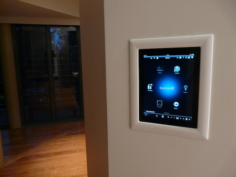 kickTECH - Project Angophora Lodge Control4 Panel for the Home Automation System