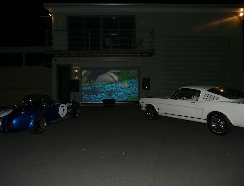 kickTECH - Project Angophora Lodge  Garage Theatre