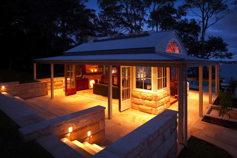 kickTECH - Project  Bangalla Estate Cottage with Control4 Lighting Control