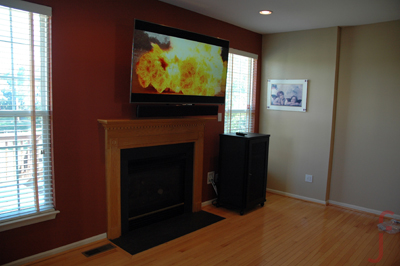 JFab Design TV Installation
