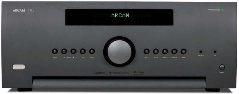 Arcam AVR850 Audio Video Receiver
