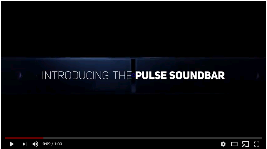 Bluesound hi res audio streamimg TV soundbar