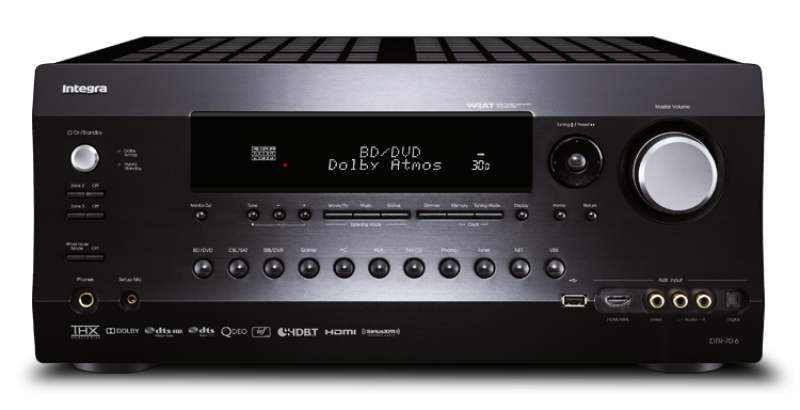 Integra AV Receiver DTR-70.6