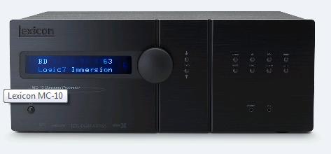 Lexicon MC 10 AV Processor