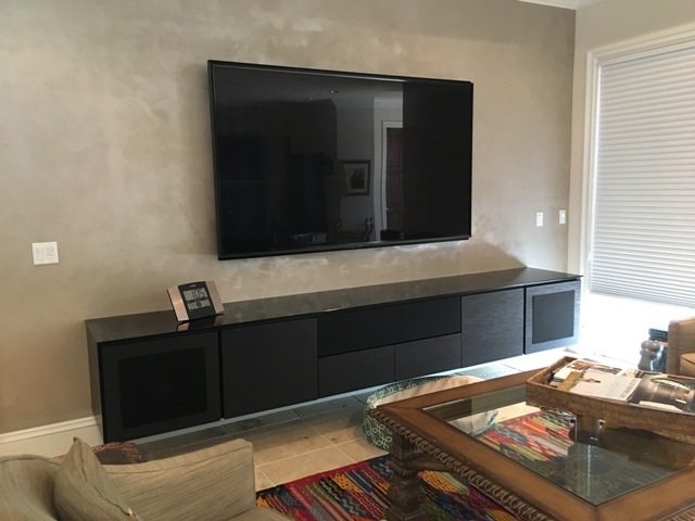 Sony OLED and Salamander cabinet 1