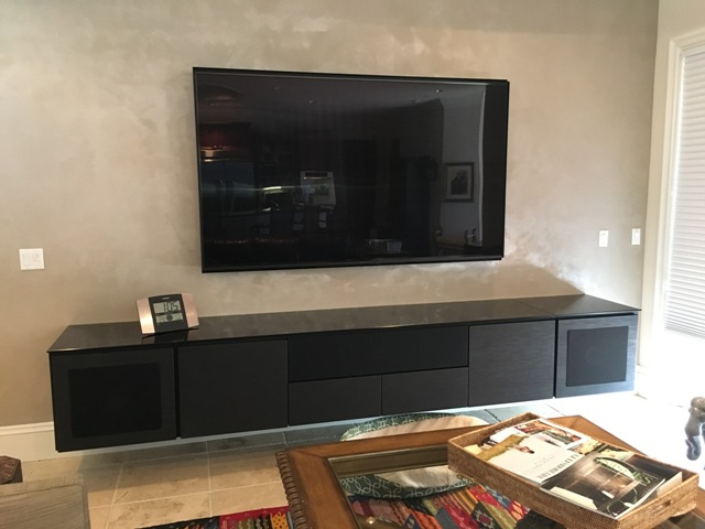 Sony OLED and Salamander cabinet 2