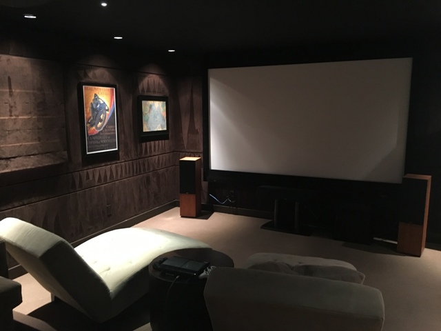 Custom Home Theater with hi end audio 2