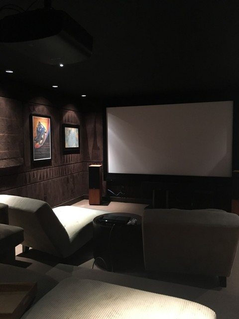 Custom Home Theater with hi end audio 3