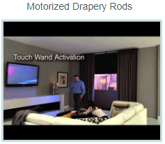 QMotion automated motorized drapery rod video