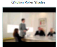 QMotion motorized shades Roller Shades overview video