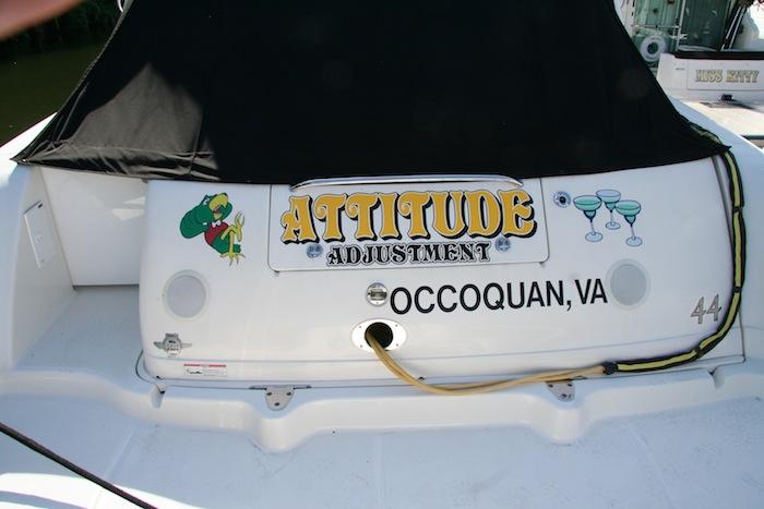 INI AV Gallery - Attitude Adjustment Boat