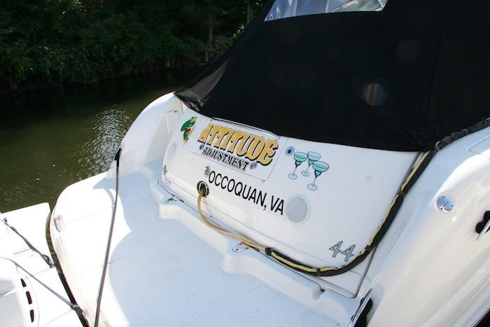 INI AV Gallery - Attitude Adjustment Boat Rear