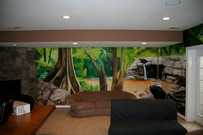 INI AV Gallery - Cave Cinema Seating Area