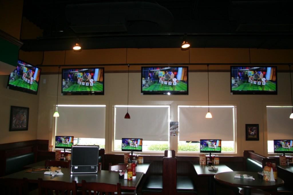 INI AV Gallery - Dulles Green Turtle Wall TVs