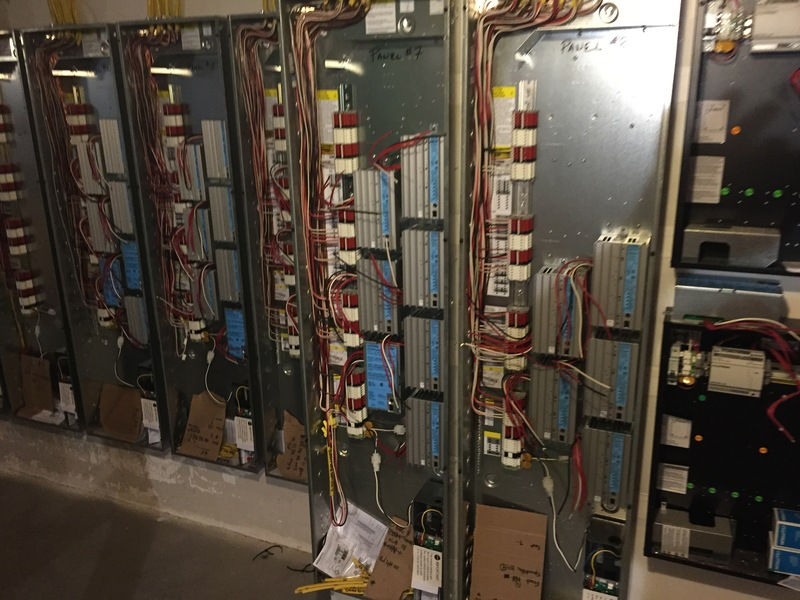 lutron homeworks qs modules installed