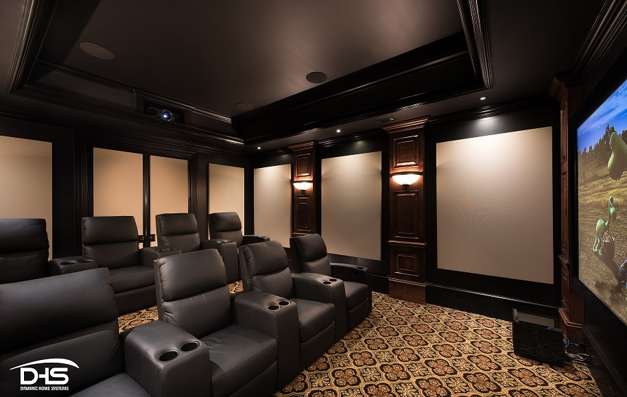 Front View of theater room