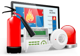 fire & burglar alarms