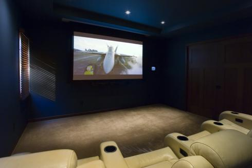 Projects - Carver - Carver Theater Room