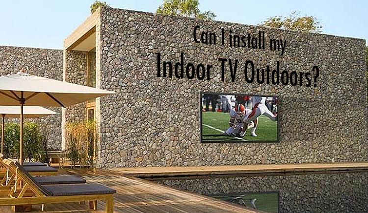 Can you install an indoor TV on your Dallas Patio or Frisco Outdoor Kitchen?
