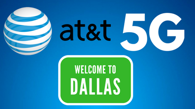 AT&T is bringing their 5G wireless service to Dallas, Waco and Atlanta.