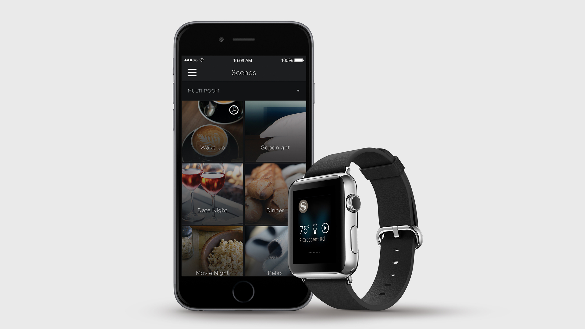 Apple Watch now features the Savant App, allowing control of your smart home via your smart watch.