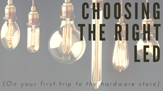 Choosing the correct LED bulb can be tough, but this guide can help you find the correct bulb for any task