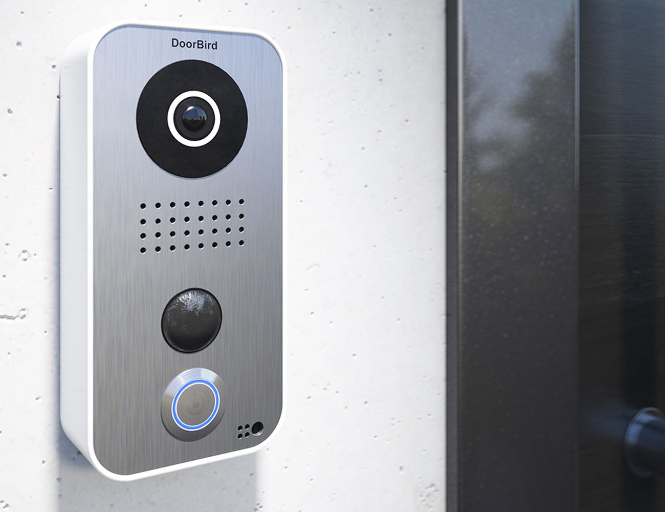 smart home elan doorbird intercom camera safety security