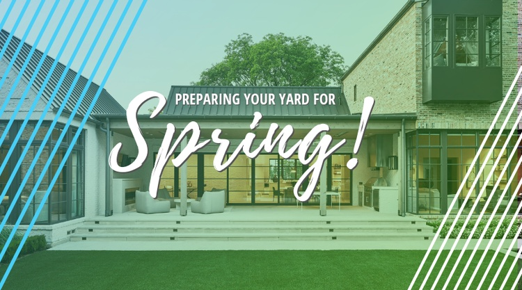 Spring means patio weather in Dallas, TX, and a smart home means more ways to enjoy your yard like outdoor audio, outdoor televisions, landscape lighting and more.