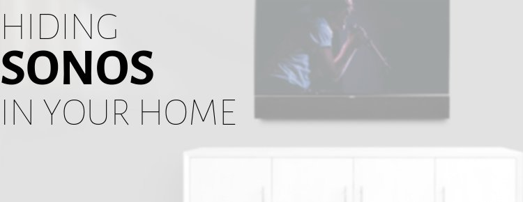 Sonos wireless audio is a great whole home music solution for Dallas smart homes, and with Leon we can make it look as good as it sounds.