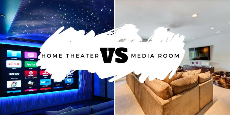 Dallas Home Theaters and Media Rooms are similar, but not the same.